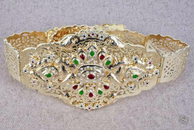 8c24bd2643e Caftan Pas Cher   les ceintures des caftans modernes