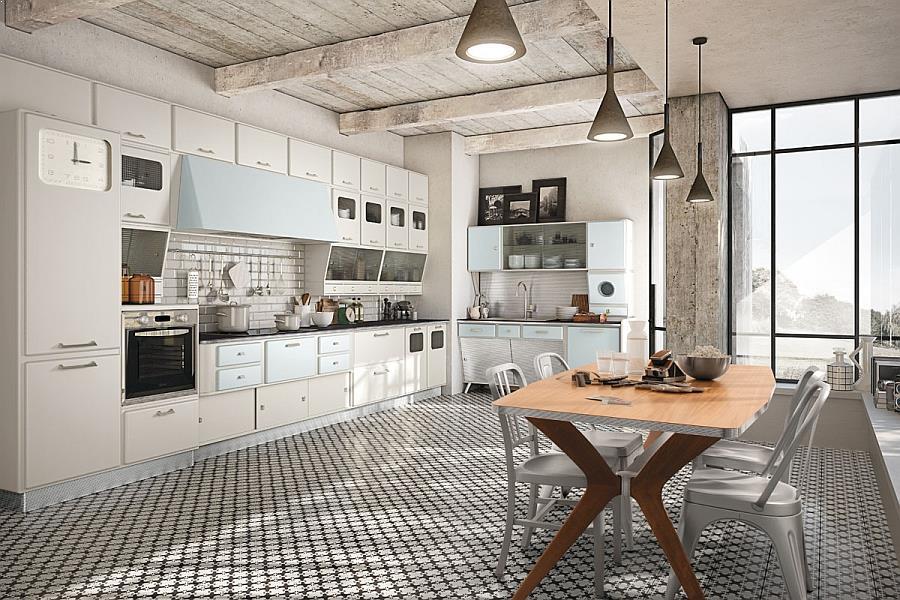 Modern Vintage Kitchen Design Kitchencabinetsdesignideas