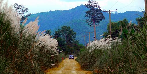 Thailand Myanmar border area