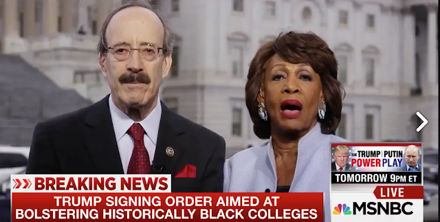 Maxine Waters Is NOT about any of that ....