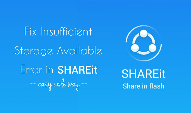 Fix SHAREit error