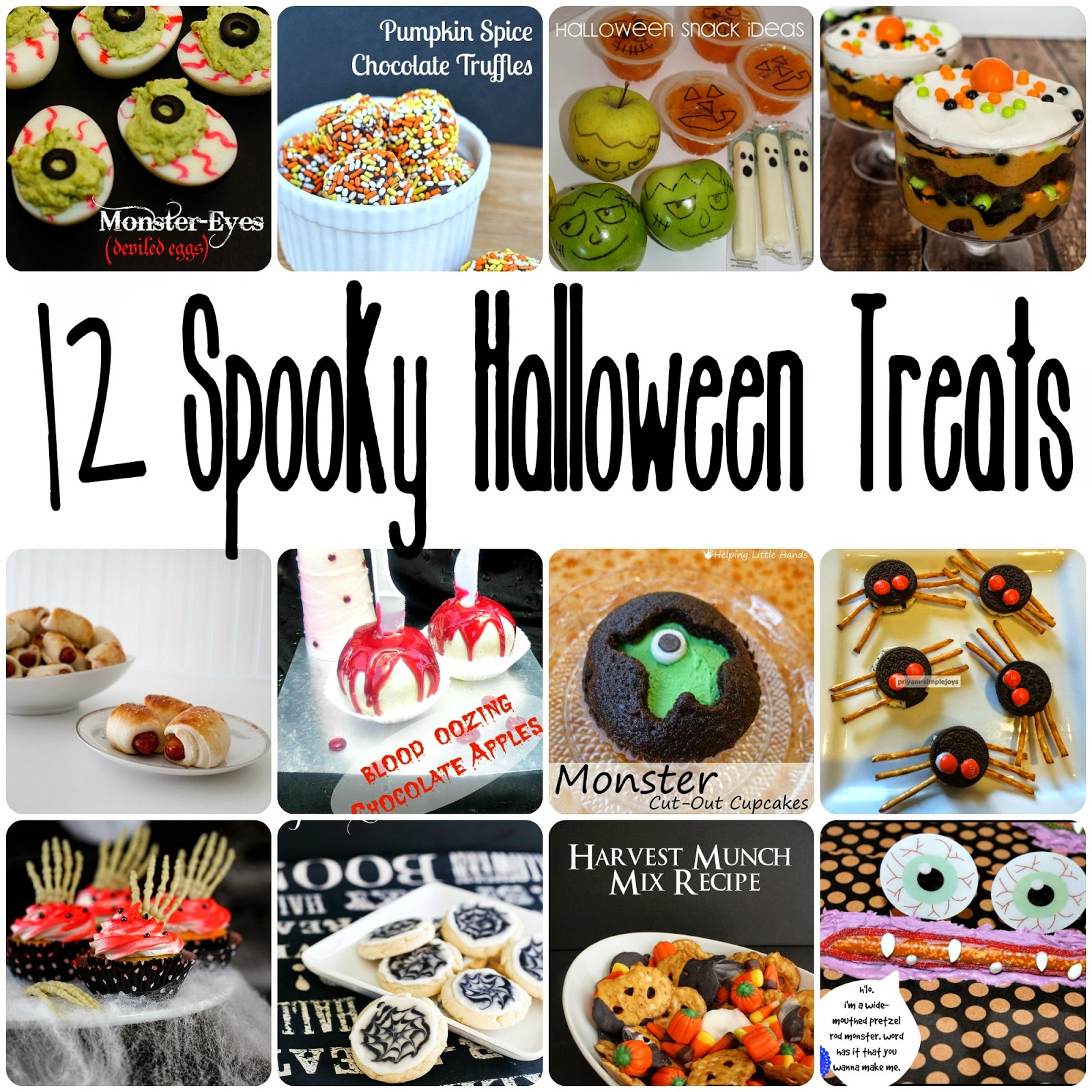 Spooky Halloween Treats - Rae Gun Ramblings