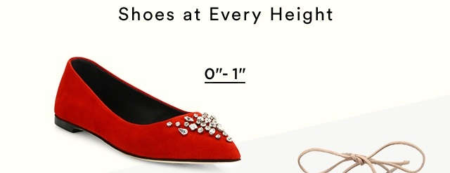 Shoe Height 0-1
