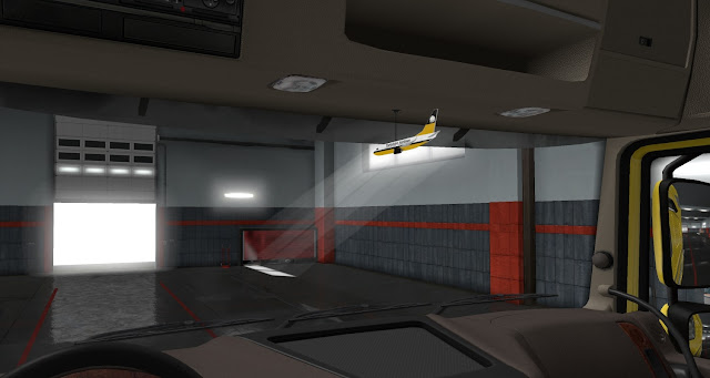 ets 2 ij's air fresheners & hanging toys screenshots 5, yorkshire airlines cabin accessory