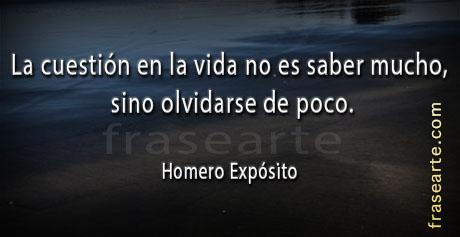 Frases de Homero Expósito