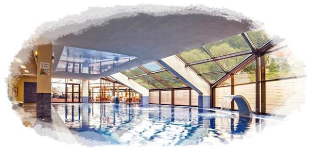 impresii piscina interioara hotel cavaler sighisoara