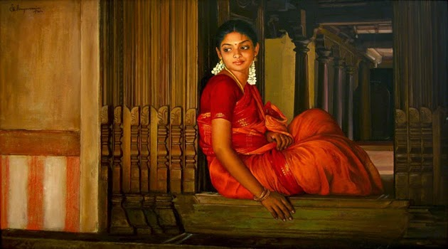 கவிதை : எப்ப மச்சான் வருவீக..? Amazing-Oil-Painting-by-South-Indian-Legend-Ilaiyaraaja-30