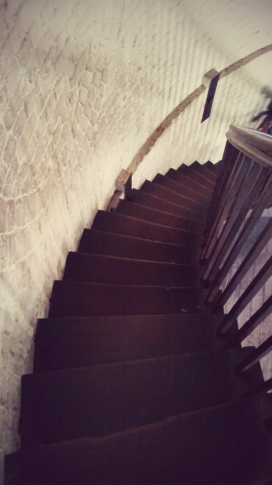 Pandangan tangga dari atas
