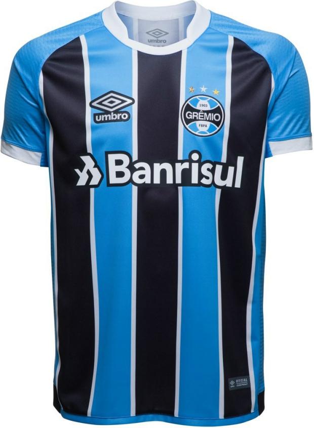 9481dfe809 Umbro divulga as novas camisas do Grêmio - Show de Camisas
