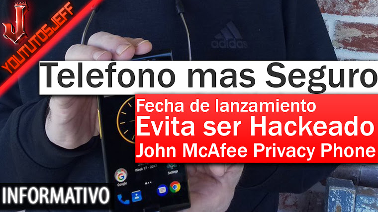 El teléfono más seguro del mundo | John McAfee Privacy Phone