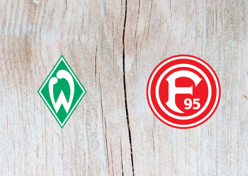 Werder Bremen vs Fortuna Dusseldorf  - Highlights 07 December 2018