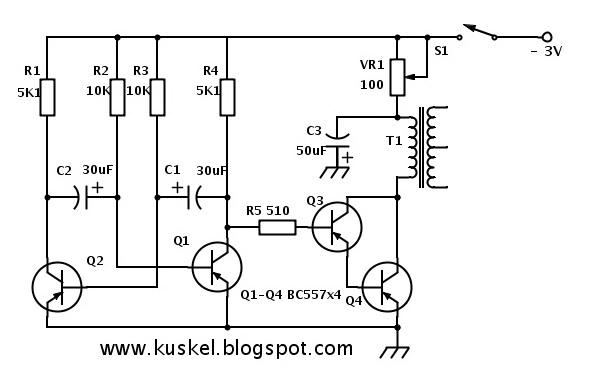 Alat Pijat Elektronik sederhana