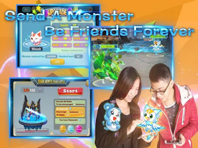 Monster Fantasy v 1.0.1 MOD Apk + OBB Data [Unlimited Money] terbaru 2016