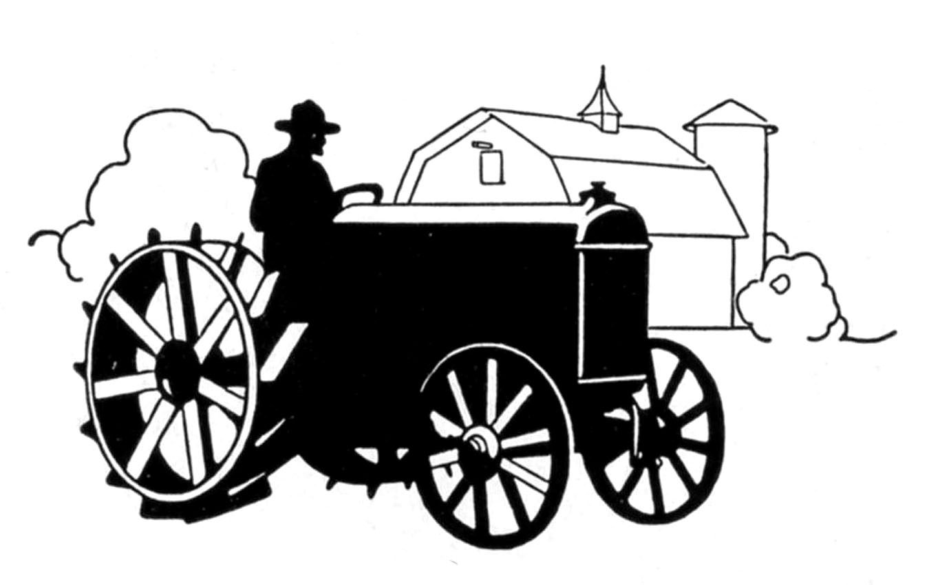 Old Tractor Clipart