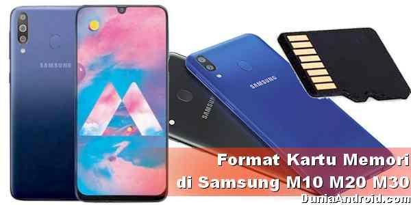 Cara Format Kartu Memori di Samsung M10 M20 dan M30 | Dunia