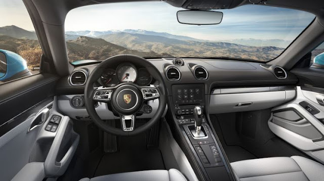 2017 Porsche 718 Cayman S PDK Automatic Interior