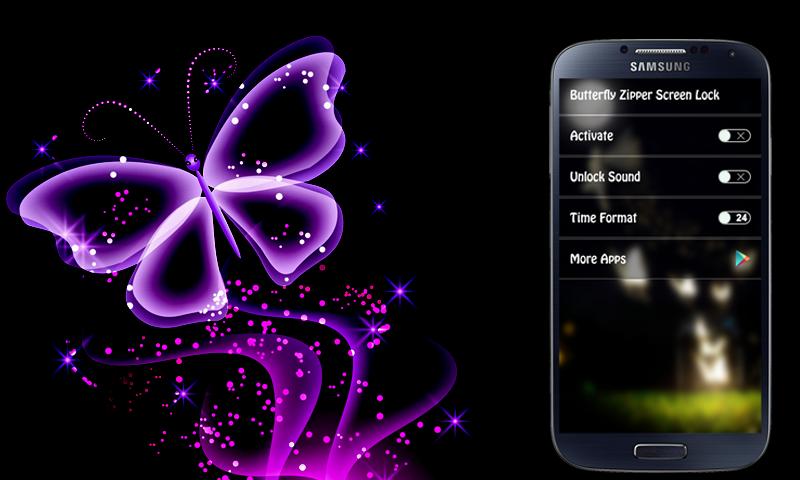 Direct Download Butterfly Lockscreen Apk App   Free