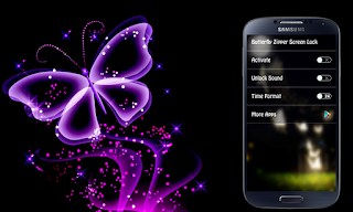 Butterfly Lockscreen Apk