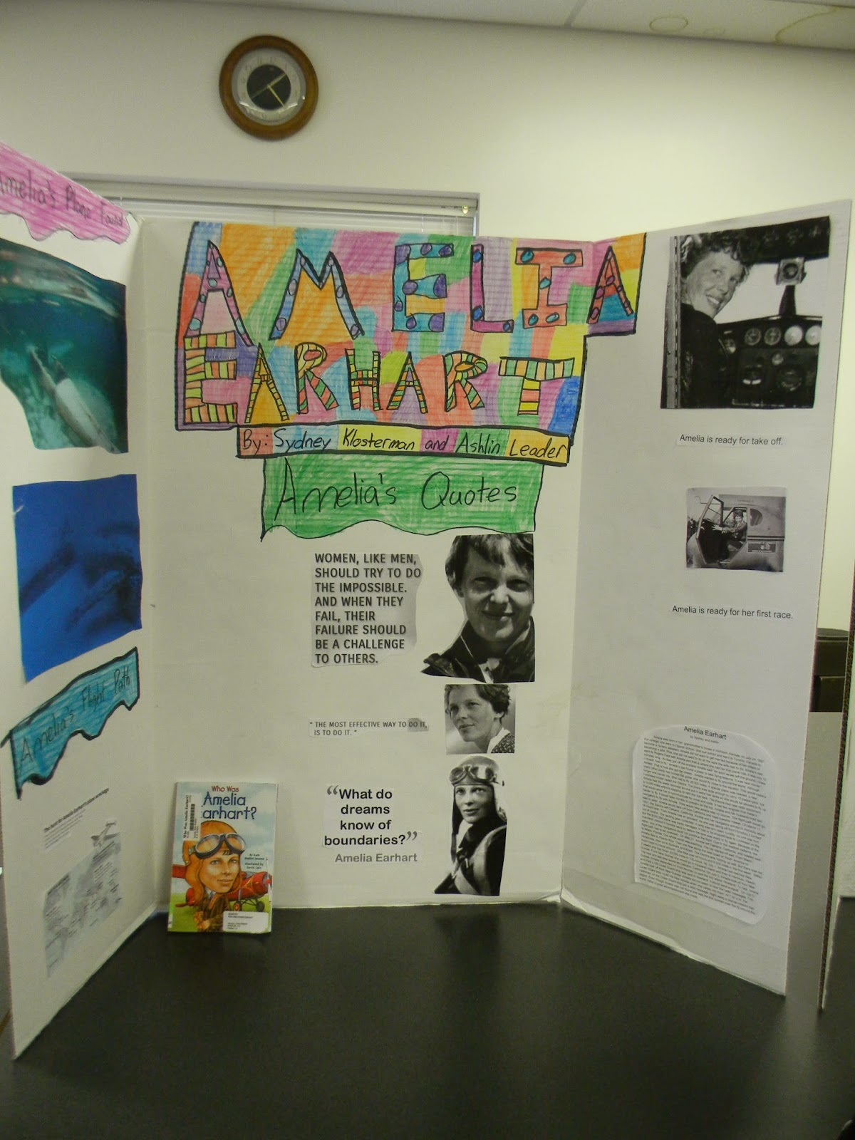 How to write a research paper on Amelia Earhart?
