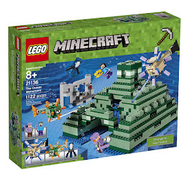 Minecraft Ocean Monument Lego Set