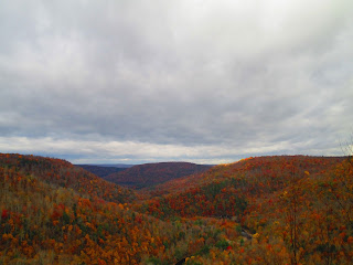 World's End State Park, Autumn, Mountains, View