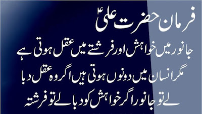 Hazrat Ali Quotes In Urdu | Jumma Mubarak