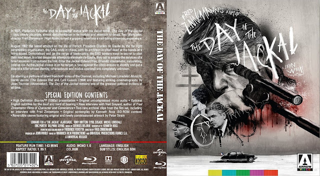The Day of the Jackal Bluray