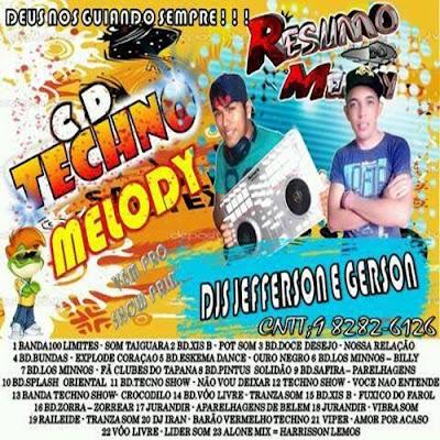 CD TECHNO MELODY / DJ JEFFERSON SHOW & GERSON PRIMER 19/04/2016