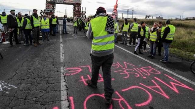Κίτρινα Γιλέκα: Επί ποδός 60.000 αστυνομικοί ενόψει των διαδηλώσεων του Σαββάτου