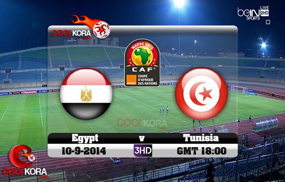 مشاهدة مباراة مصر وتونس بث مباشر بي أن سبورت تصفيات أفريقيا