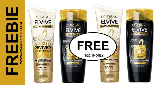 https://www.cvscouponers.com/2019/04/free-loreal-elvive-total-repair-cvs.html