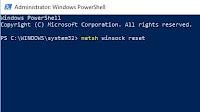 Riparare TCP e Winsock in Windows 10