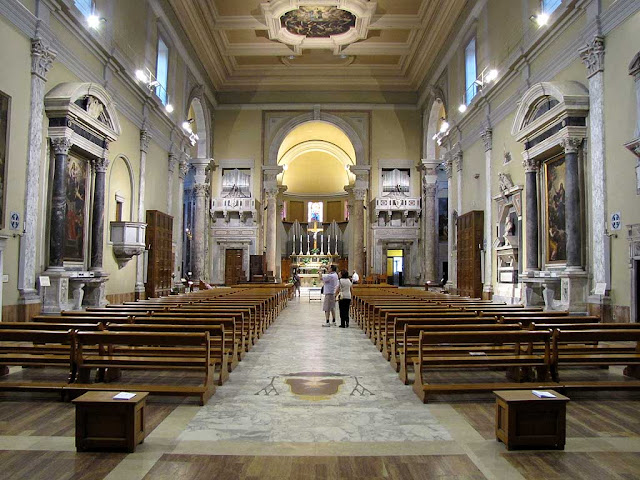 Interior of the Cathedral, Livorno