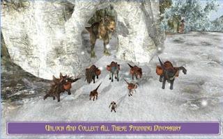 Game Extreme Dino Rex Snow Cargo Apk