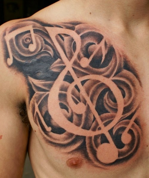 Tattoo Ideas Nota musical top