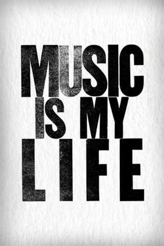 Music is my life hd mobile wallpapers for your smart phone - Music is life hd ...