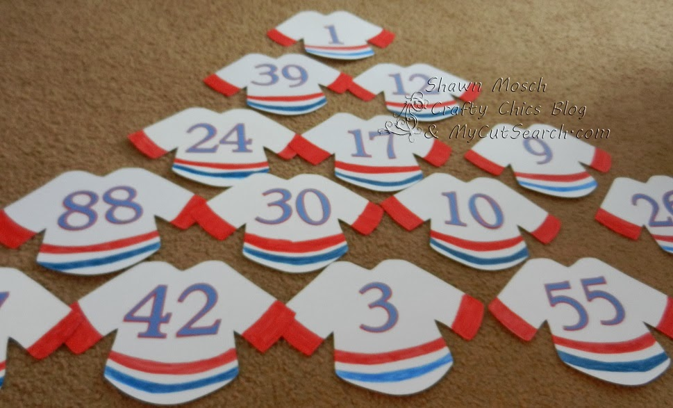 Crafty Chic's: Hockey Tournament Door Signs