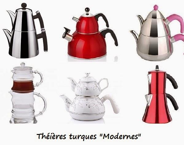 manger turc la cuisine turque la theiere turque caydanlik. Black Bedroom Furniture Sets. Home Design Ideas