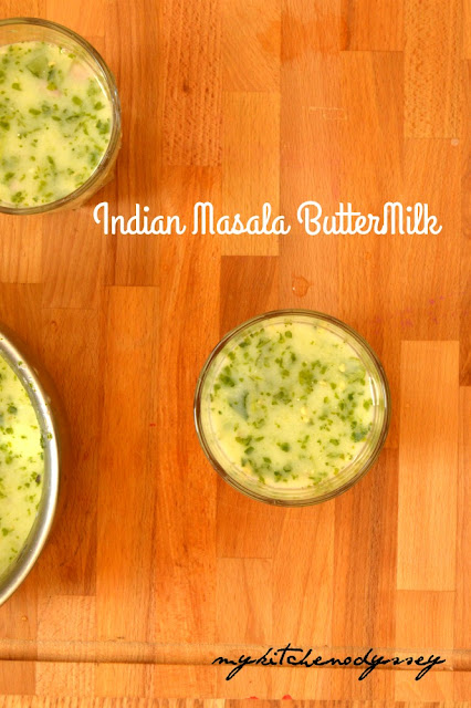 indian masala buttermilk recipe