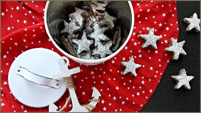 1. Advent Weihnachtsbäckerei Rezept Mohnplätzchen mit Kirschen Multivitamin