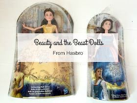Beauty and the beast belle dolls from Hasbro review