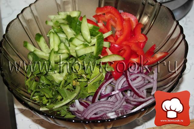 Салат с одуванчиками рецепт с фото