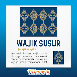 Free Download Vector Motif Wajik Susur -www.vectornesia.com