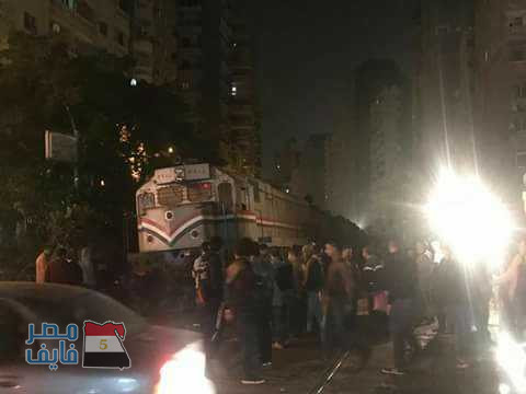 """عاااجل  إندلاع حريق في قطار """"شبرا الخيمة"""".. والمصار تكشف التفاصيل وأعداد الضحايا"""