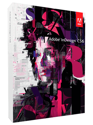 Adobe InDesing CS6 box