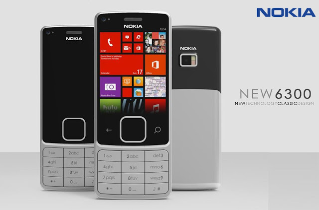Nokia 6300 Redesign | 2017 | Touch Display Smartphone | Concept