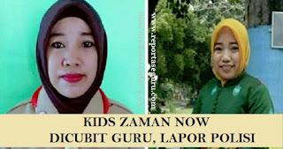 Kids Zaman Now! Dicubit Guru, Siswi dan Orangtuanya Lapor Polisi