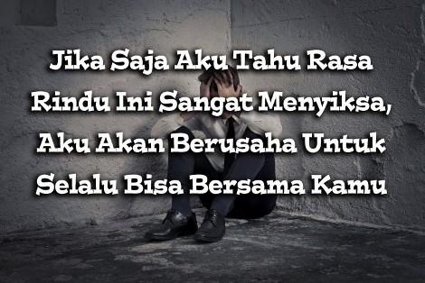 kata-kata rindu pada seseorang