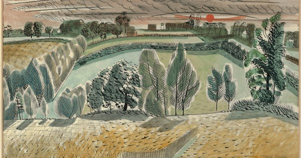 Edward Bawden at Dulwich Picture Gallery - last few days