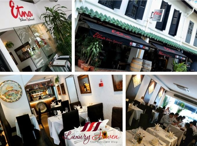 Italian Food Restaurant Names: ETNA Italian Restaurant, Food Bursting With Flavours